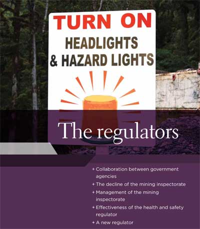 Section homepage - The Regulators