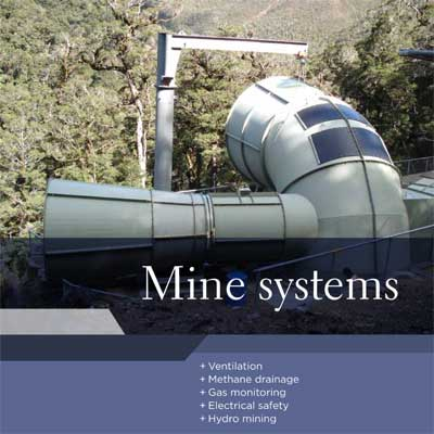 Section homepage - Mine systems